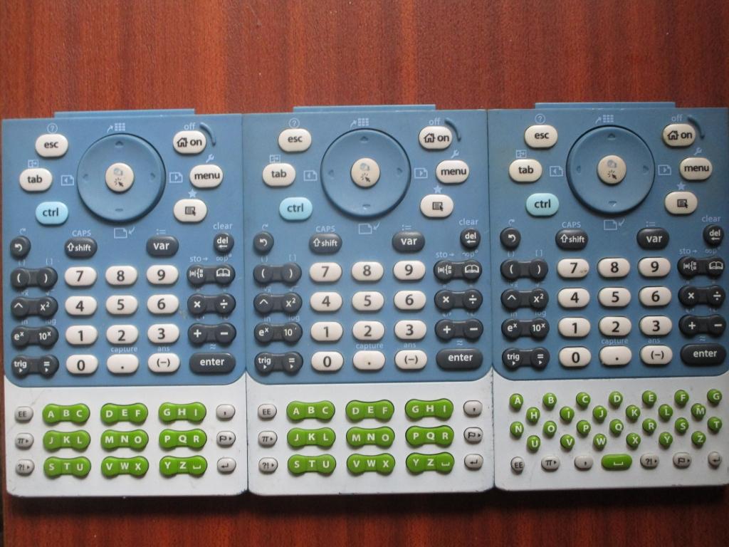 Prototypes claviers TI-Nspire