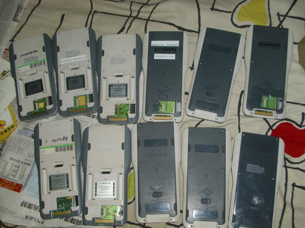 Lot prototypes Nspire + JTAG