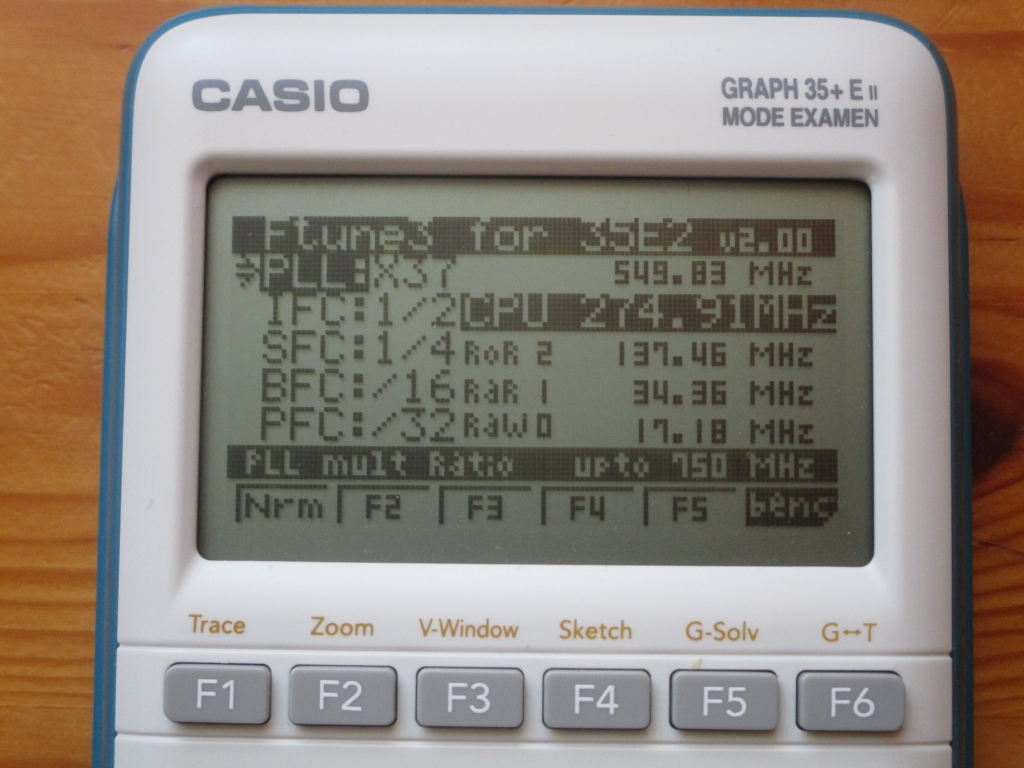 Casio Graph 35+E II + Ftune3