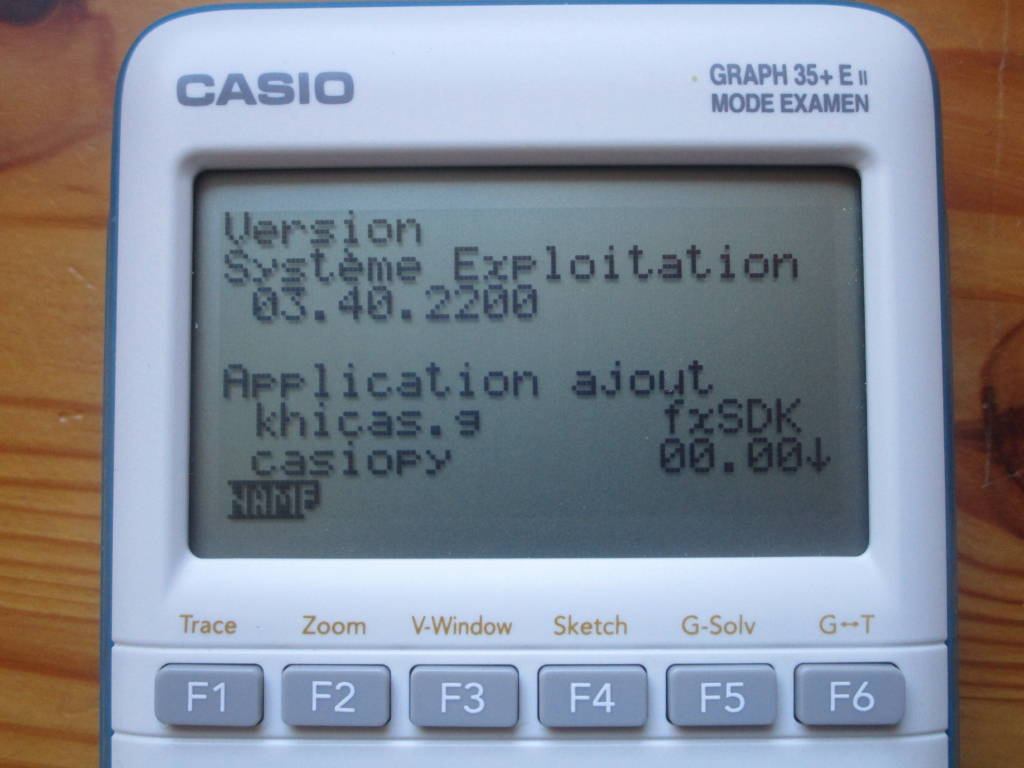 Casio Graph 35+E II + OS 3.40