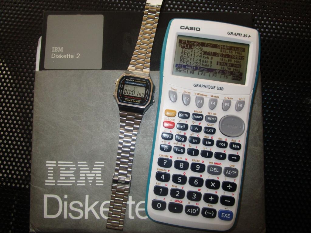 Chronométrage Casio Graph 35+USB