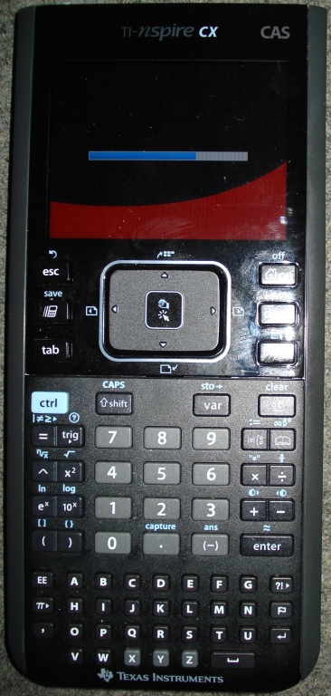 Strange TI-Nspire CX Boot Screen