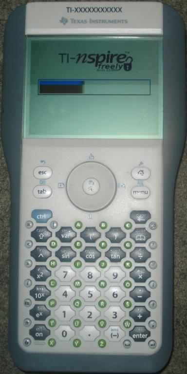 TI-Nspire CAS + Boot1 1.1.9999