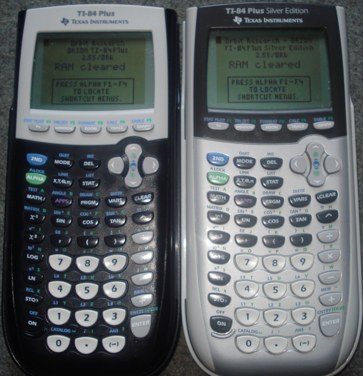 TI-84 Plus (/SE) + OS 2.55/ORk