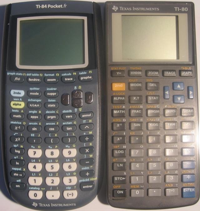 TI-84 Pocket.fr + TI-80