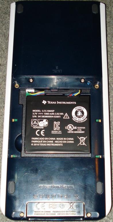 TI-Nspire Color + batterie