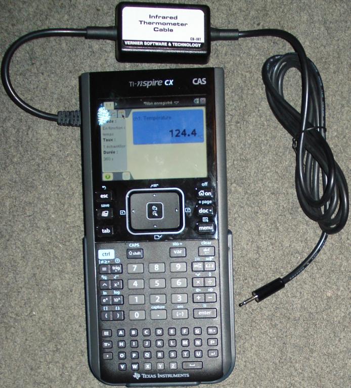 Thermomètre infrarouge Vernier