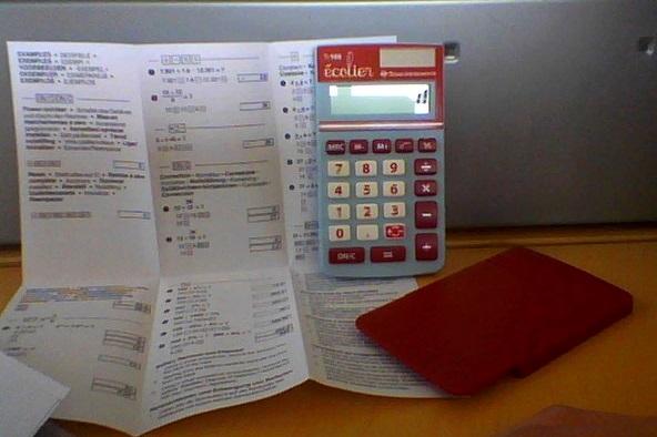 Contenu emballage TI-106 écolier