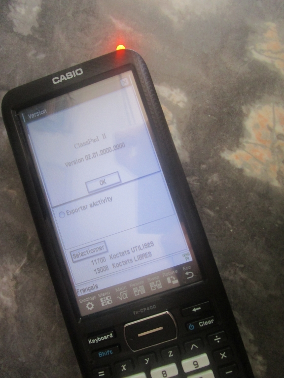 fx-CP400 -> fx-CP400+E