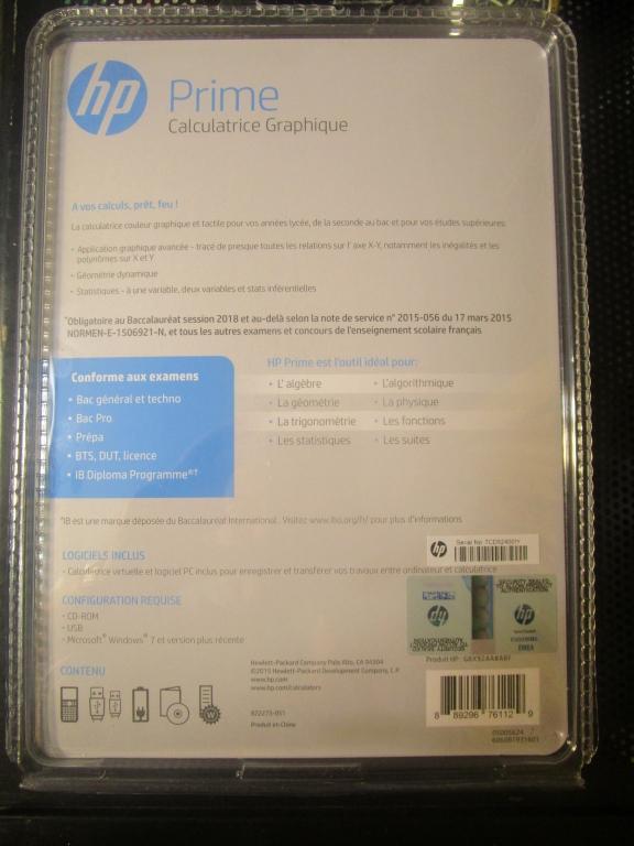 TI-Planet | Voir l'image - Emballage HP-Prime