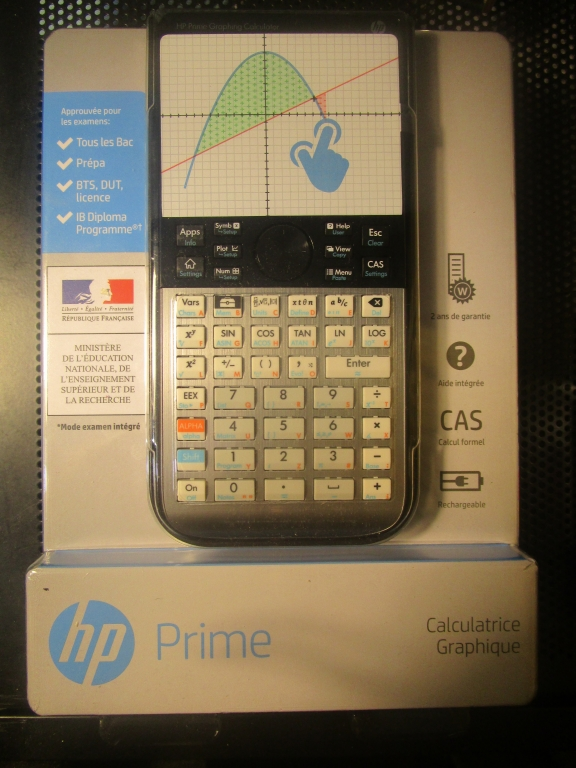 Emballage HP-Prime