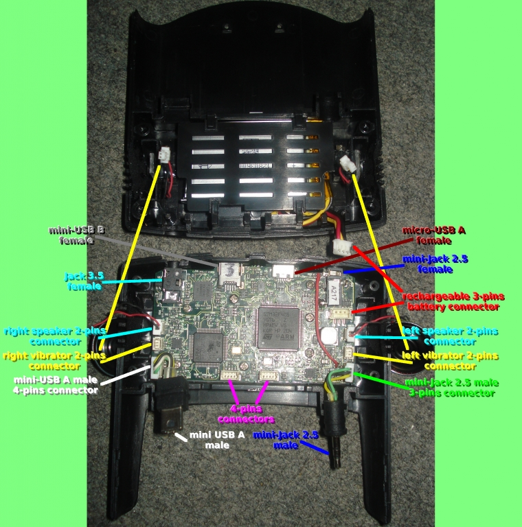 Orion motherboard connectivity