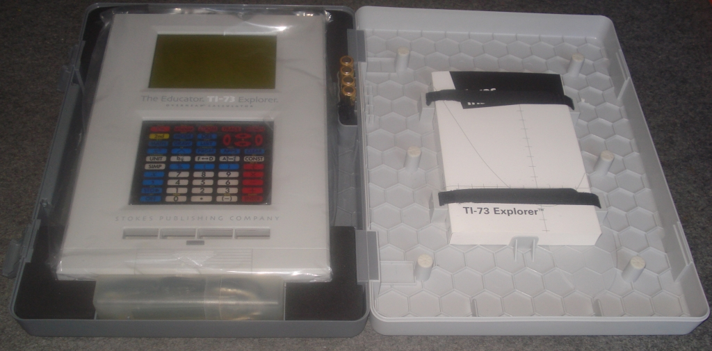 The Educator TI-73 overhead