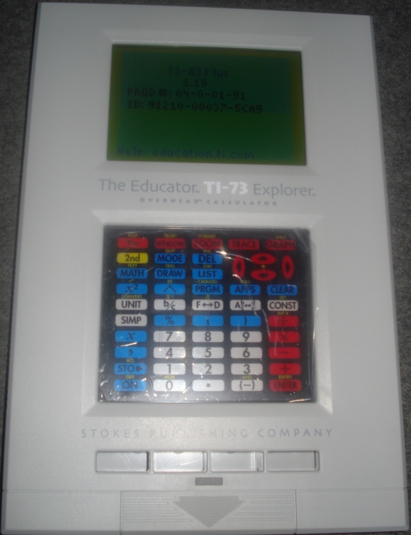 The Educator TI-83 Plus overhead