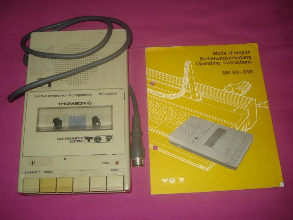 Lecteur cassettes MK90-090 TO7