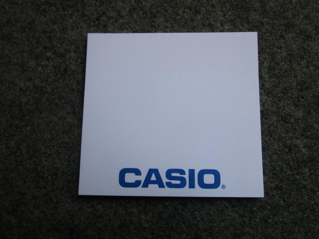 Mémo Casio - rentrée 2019