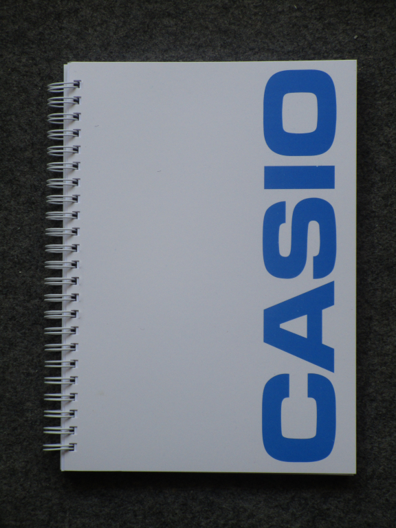 Bloc-notes Casio - rentrée 2019