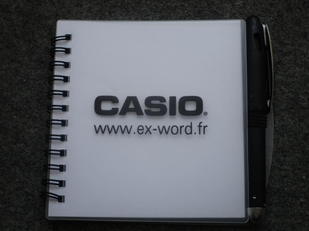 Calepin Casio - rentrée 2019