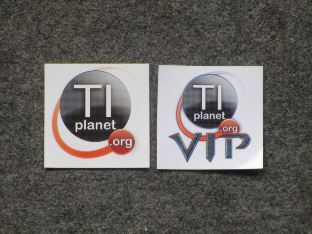 Stickers TI-Planet; rentrée 2019