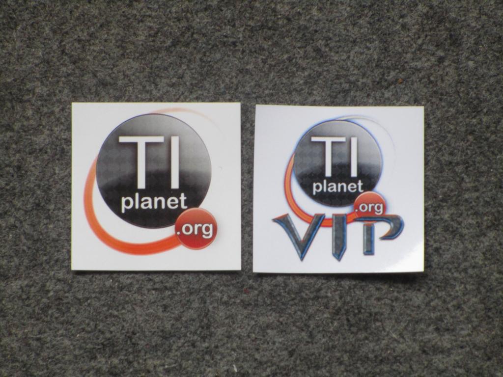 Stickers TI-Planet; rentrée 2019