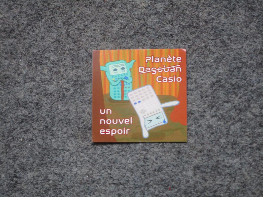Sticker Planète Casio - 2019