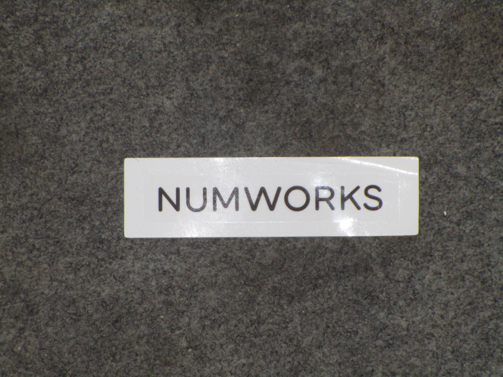Sticker NumWorks