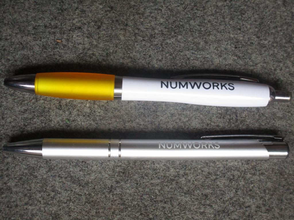 Stylo NumWorks - rentrée 2019