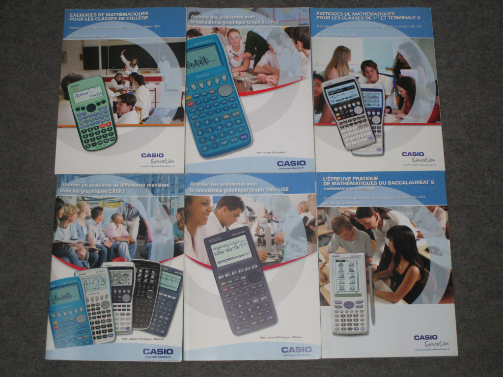 Cahiers exercices Casio - 2019