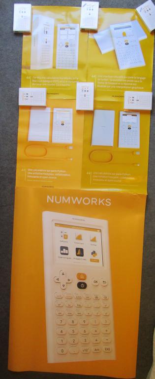 Posters NumWorks - rentrée 2019
