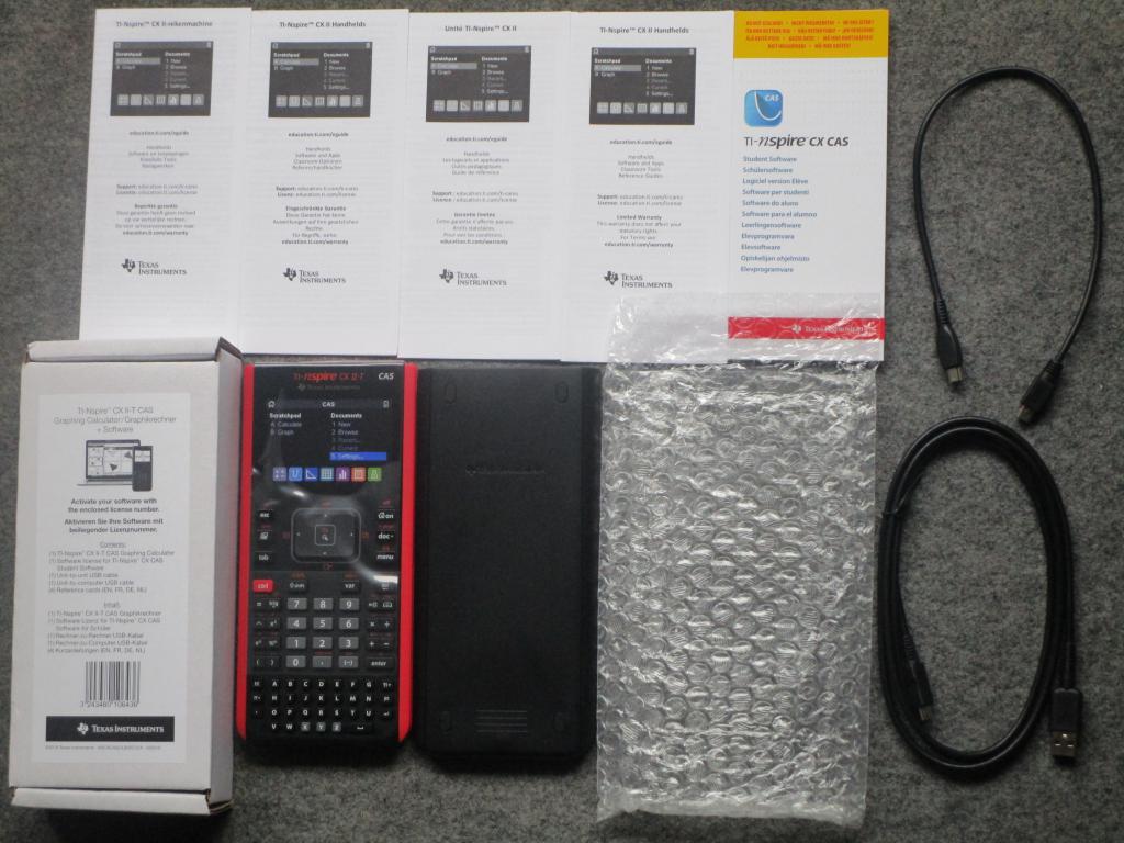 TI-Nspire CX II-T CAS - 2019