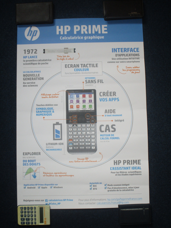 Poster HP Prime - concours 2020