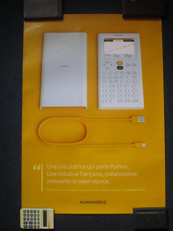 NumWorks N0100 MEN A2 brillant