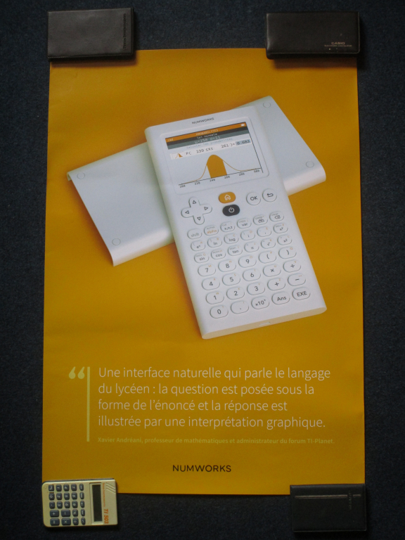 NumWorks N0100 TI-Planet A2