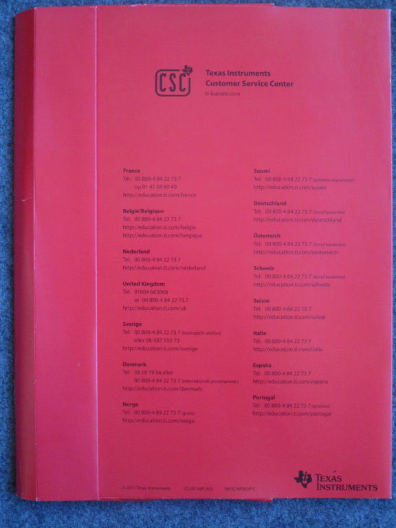 Porte-documents TI - concours