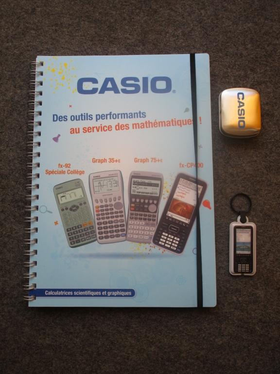 Goodies Casio rentrée 2017