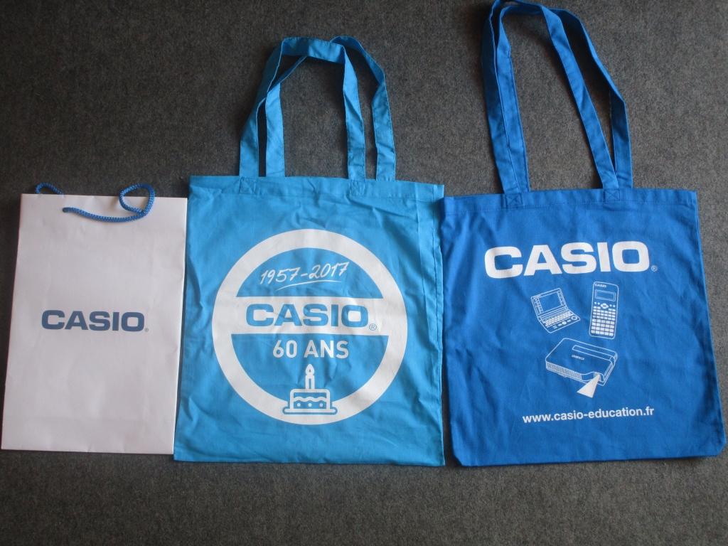 Sacs Casio - rentrée 2018