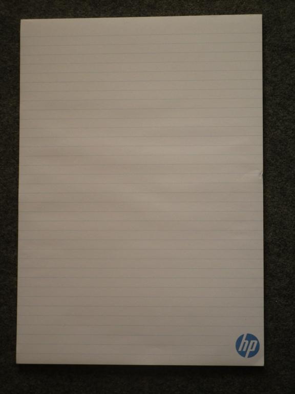 Bloc-notes HP - rentrée 2018