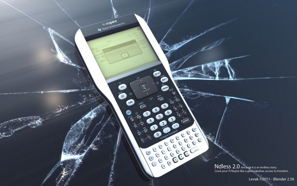 Affiche publicitaire Ndless 2.0 / TI-Nspire TouchPad