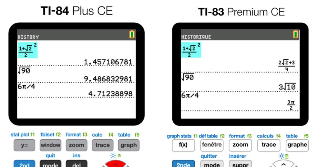 Calcul exact 83PCE / 84+CE