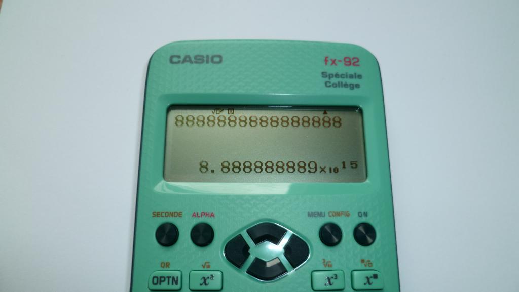 Casio fx-92 Spéciale Collège