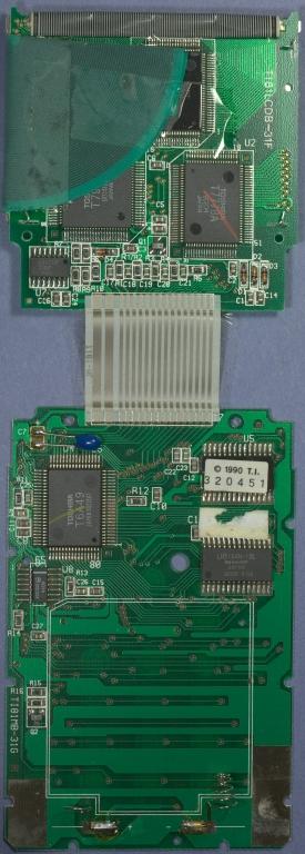 TI-81 0719871 PCB Rear