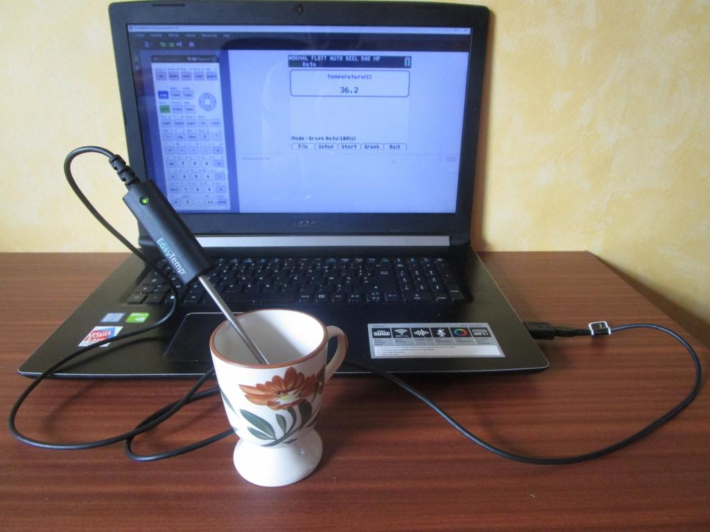 Vernier EasyTemp + TI-SmartView