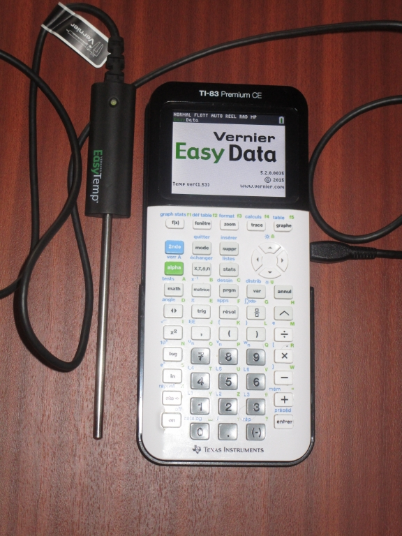 Vernier EasyTemp + 83 Premium CE