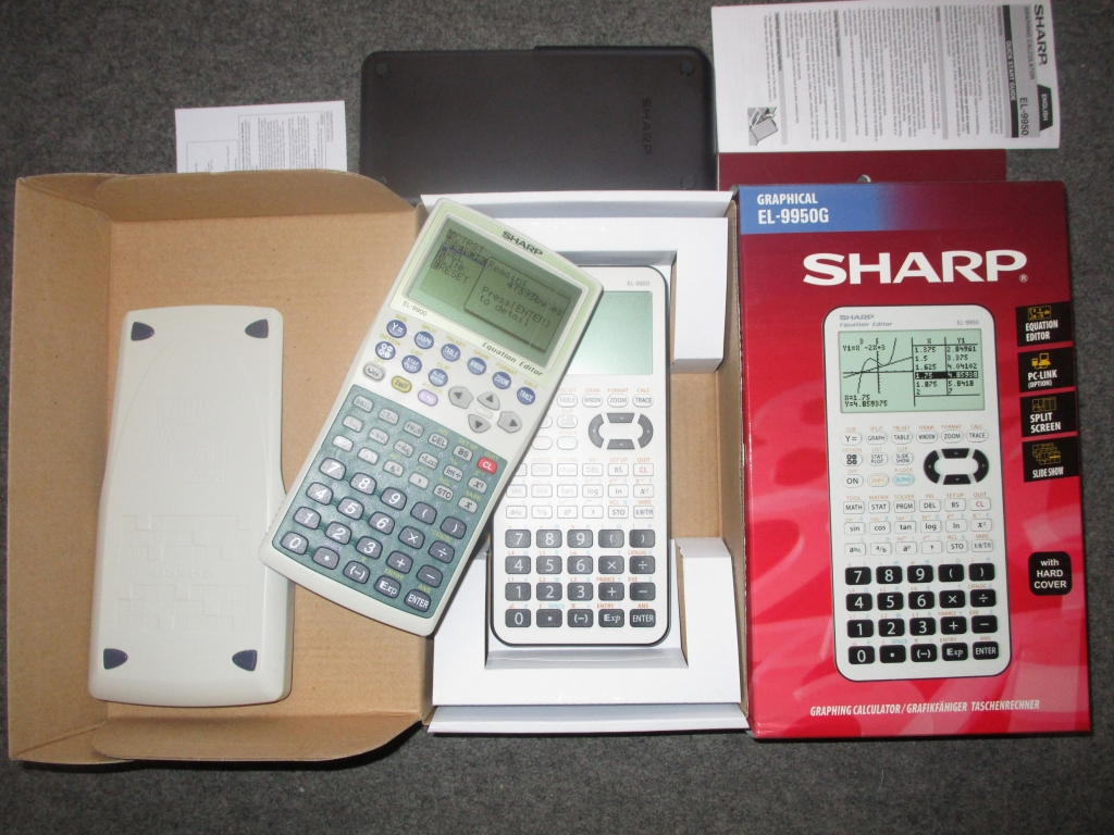Sharp EL-9900 + EL-9950
