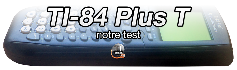 TI-84 Plus T review header
