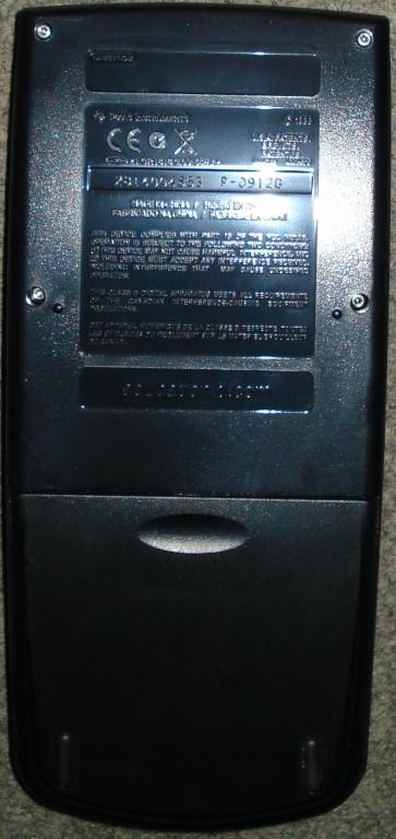 TI-82 STATS noire