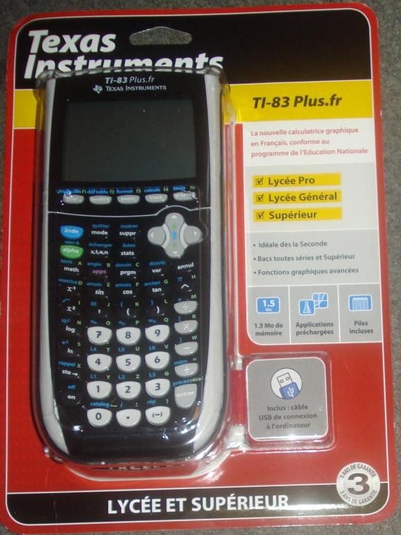 Emballage TI-83 Plus.fr 2013