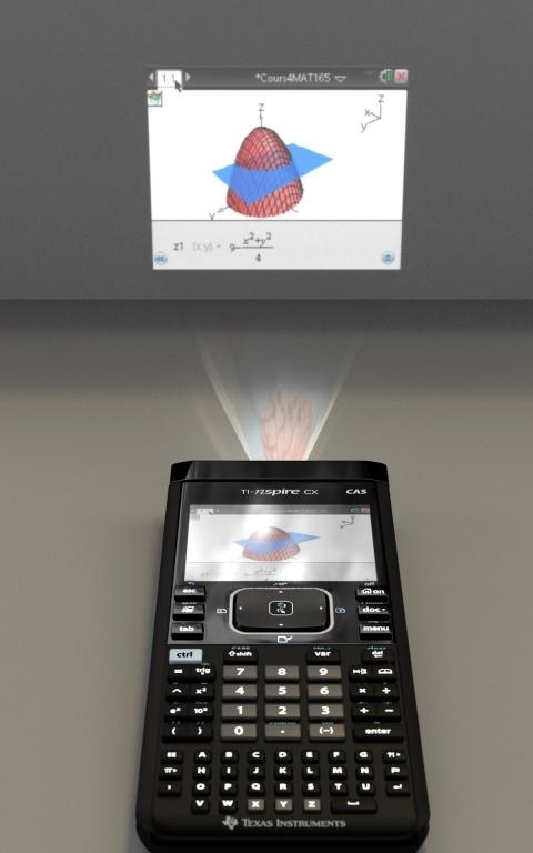 TI-Nspire CX mini Presenter