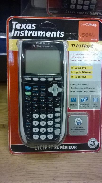 TI-83 plus.fr (USB)