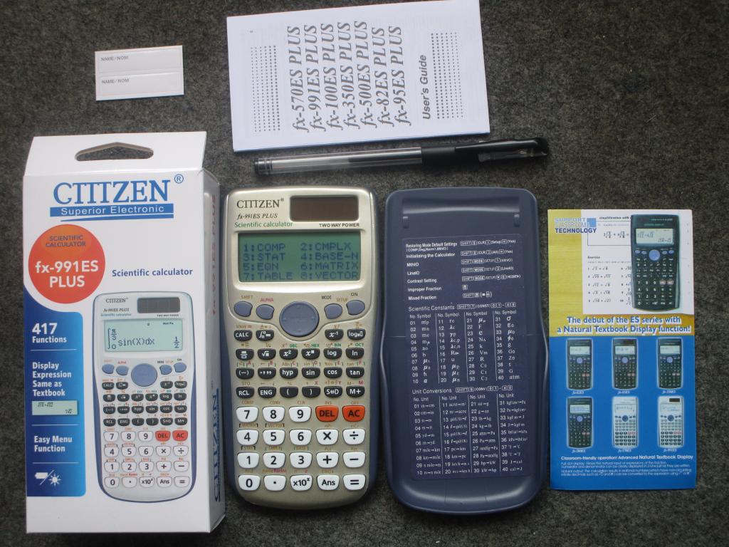 Citizen fx-991ES Plus